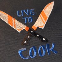 Live to cook