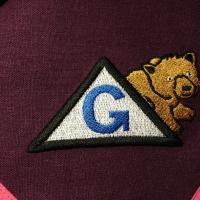 Tikitud logo -Grisli karu